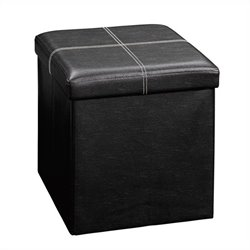 Studio RTA Beginnings Small Ottoman in Black