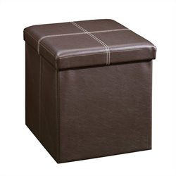 Studio RTA Beginnings Small Ottoman in Brown