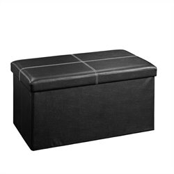 Studio RTA Beginnings Large Ottoman in Black
