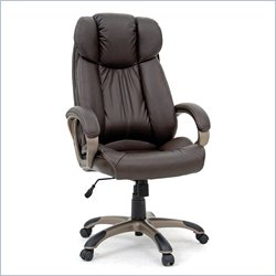 Studio RTA Executive Leather Chair in Brown