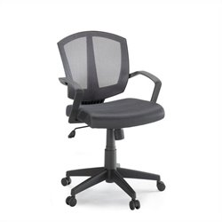 Studio RTA Back to School Mesh Task Chair in Gray