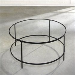 Studio RTA Soft Modern Coffee Table in Black