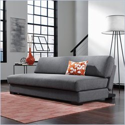 Studio RTA Premier Chiller Convertible Sofa in Dark Grey