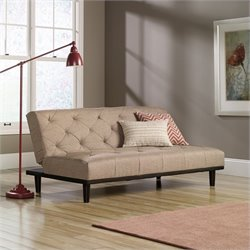Studio RTA Premier Mason County Convertible Sofa in Camel
