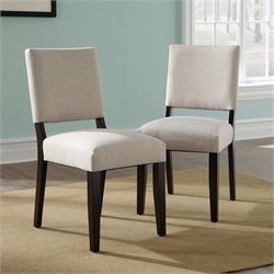 Studio RTA Shoal Creek Parsons Dining Chair in Jamocha  (Set of 2)