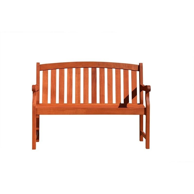 Vifah Outdoor 2-Seater Marley Bench