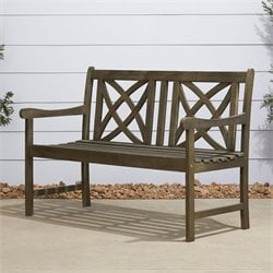 Outdoor Bench in Natural