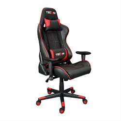 Techni Sport Office PC Gaming Chair in Red