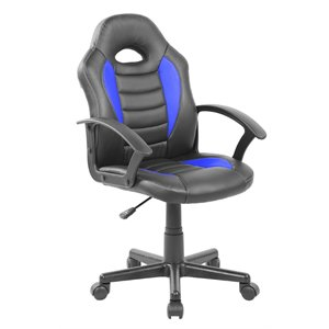 Techni Mobili Faux Leather Game Chair
