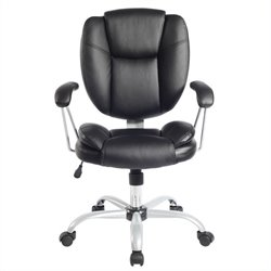 TECHNI MOBILI  0930 Ergonomic Task Office Chair in Black
