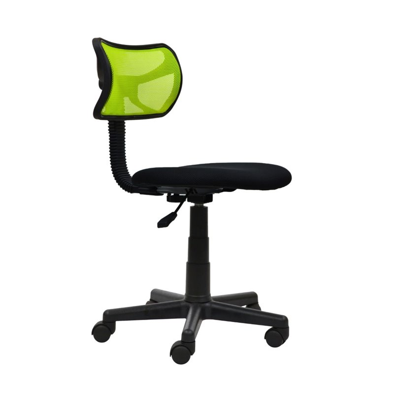 Mesh Task Chair in Lime