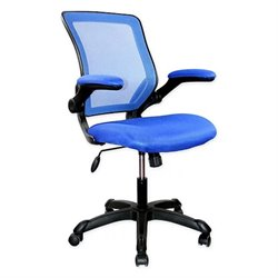 Techni Mobili Mesh Task Chair in Blue