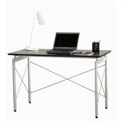Techni Mobili Stylish Desk in Chocolate