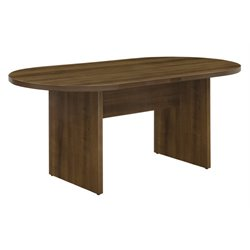 Racetrack Conference Table in Walnut
