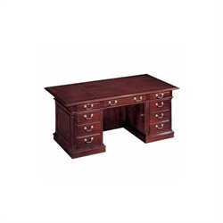 DMi Keswick 66 in. Width Executive Desk - Wood & Veneer