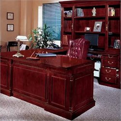 DMi Keswick Right Executive U-Desk - Wood & Veneer