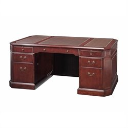 DMi Oxmoor Executive Desk with Leather Inlays