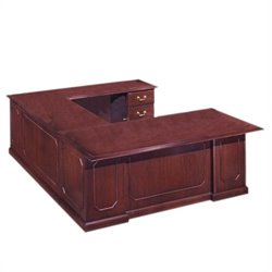 DMi Governors Executive 110 in. Deep U-Desk - Right U-Desk