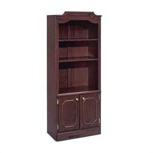 Flexsteel Governors Bookcase with Cabinet