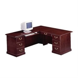 DMi Andover Executive 66 in. L-Desk