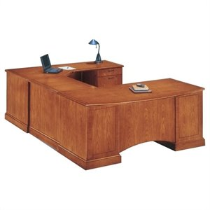 Flexsteel Belmont Right Executive Corner U-Shaped Desk