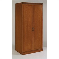 DMi Belmont Double Door Wardrobe - Executive Cherry