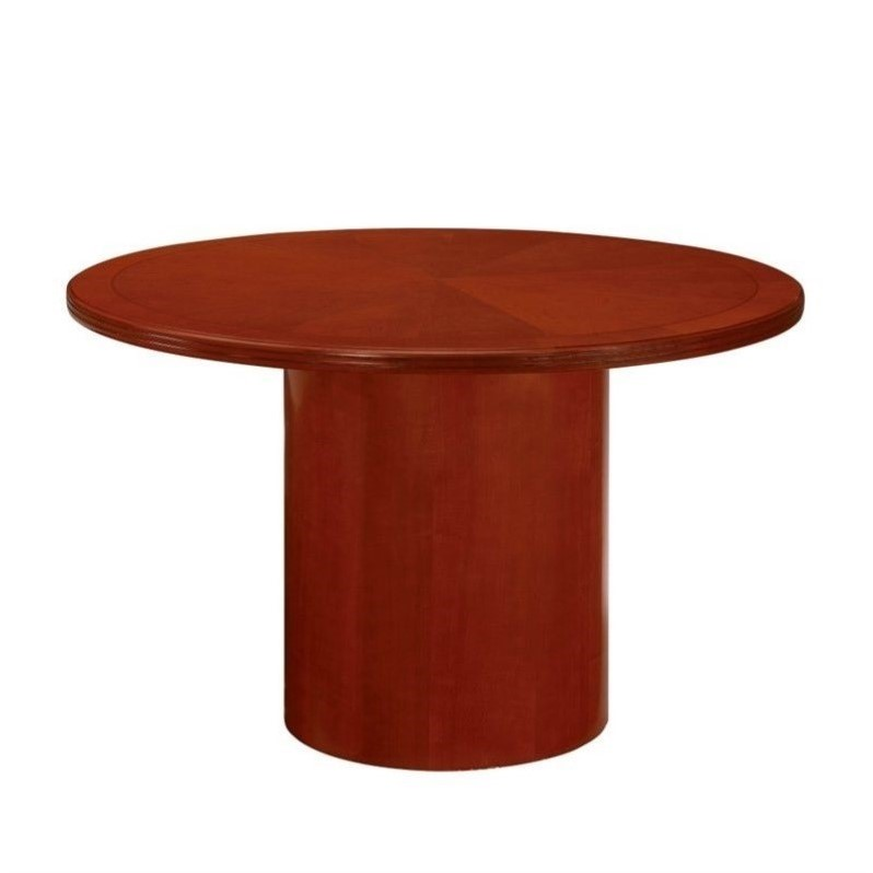DMi Belmont 3.5' Round Conference Table with Column Base