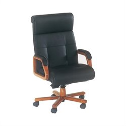 DMi Belmont Executive Leather High Back Chair - Executive Cherry