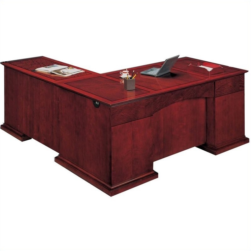 DMi Del Mar Executive L-Shaped Desk