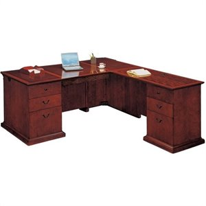 Flexsteel Del Mar Executive L-Shaped Desk