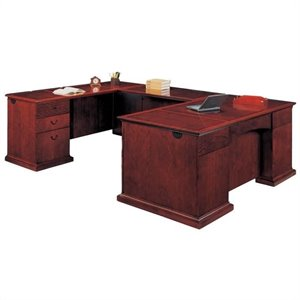 Flexsteel Del Mar Executive U-Shaped Desk