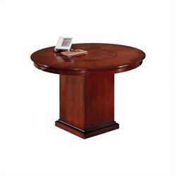 DMi Del Mar 3.5' Round Conference Table with Column Base