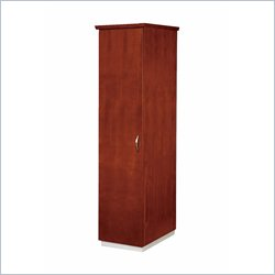 DMi Pimlico Veneer Left Single Wardrobe in Bronze Cherry