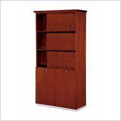 DMi Pimlico Veneer Bookcase in Bronze Cherry