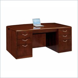 DMi Summit Executive Bow Front Desk (Assembled)