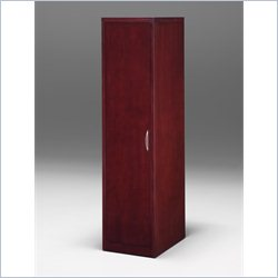 DMi Summit Left Single Door Wardrobe - Reeded Edge