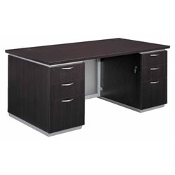 DMi Pimlico Laminate Executive 72 in. Desk (Assembled)
