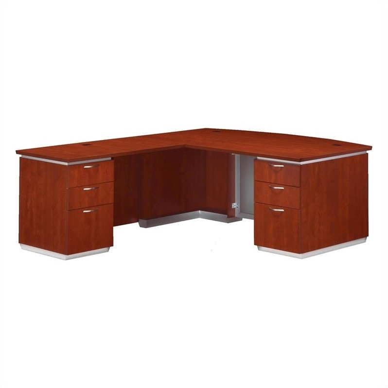 Flexsteel Pimlico Laminate Executive LHF L-Shaped Desk (Flat Pack)