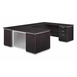 DMi Pimlico Laminate Executive U-Shaped Desk