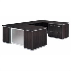 DMi Pimlico U-Shape Wood  Desk (Flat Pack)