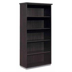 DMi Pimlico Laminate 72 in. Open Bookcase (Assembled)
