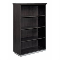 DMi Pimlico Laminate 54 in. Open Bookcase (Assembled)