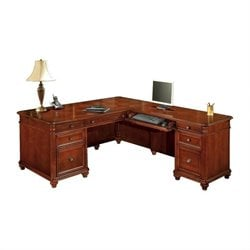 DMi Antigua Executive L-Shaped Desk - Right L-Desk