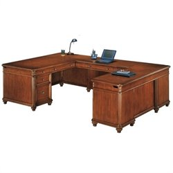 DMi Antigua Executive U-Shaped Desk - Right U-Desk