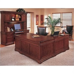 Flexsteel Rue de Lyon Executive L-Shaped Desk