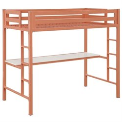 Twin Bunk Bed with Work Station