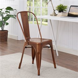 Walker Edison Metal Dining Chair