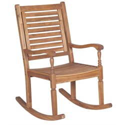 Walker Edison Patio Rocking Chair