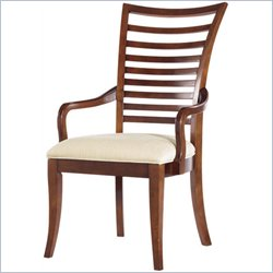 Stanley Furniture Hudson Street  Fabric Arm Chair in Warm Cocoa