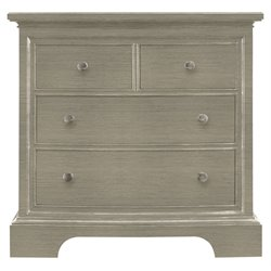 Stanley Furniture Transitional Bachelor's Chest in Estonian Grey